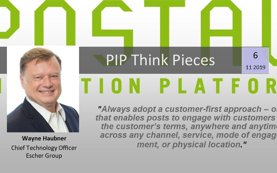 Elevating the Customer Experience - Think Piece #6, Wayne Haubner
