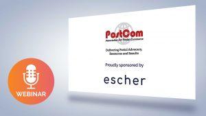 Escher Sponsor Postcom Webinar