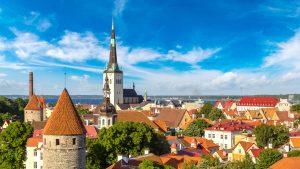 World Mail Express Europe Tallinn Escher